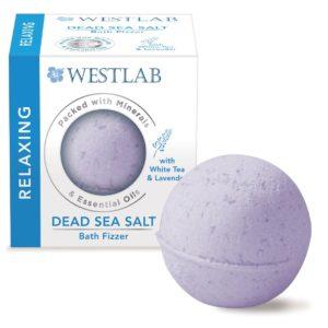 boule de bain - sel mer morte - westlab