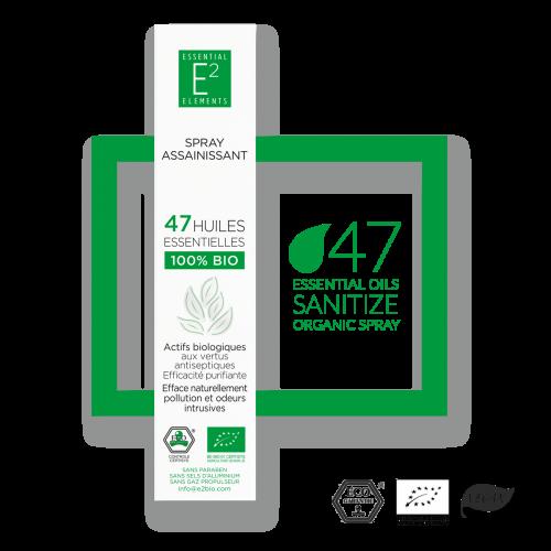 spray assainissant - E2 essential elements