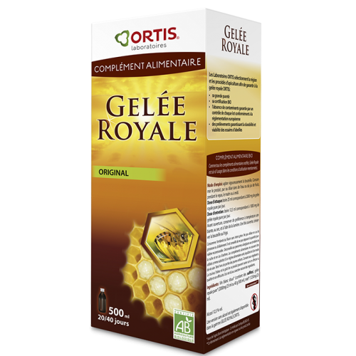 Gelée royal original - 500 ml - Ortis