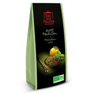 mate-menthe-citron-thés de la pagode