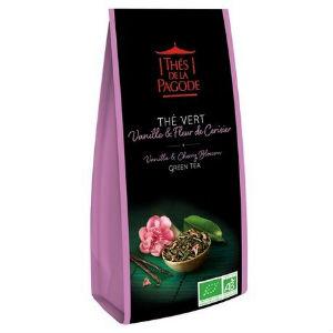 the-vert-vanille-fleur-de-cerisier-thés de la pagode