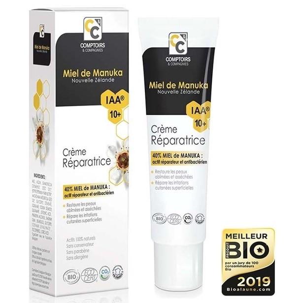 crème réparatrice - miel de manuka - comptoirs & compagnies