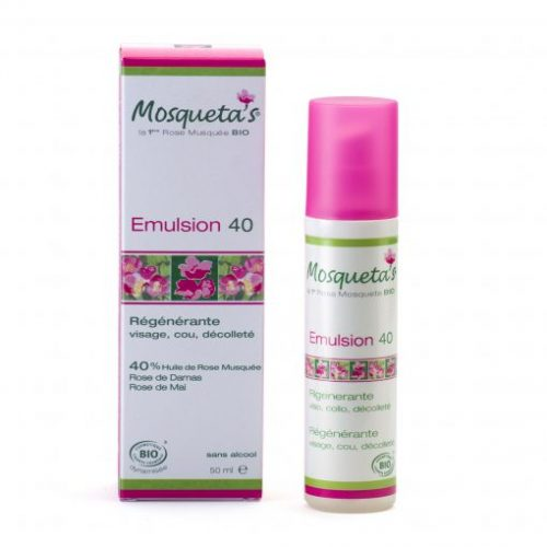 Emulsion 40 - Crème régénérante - Mosqueta's