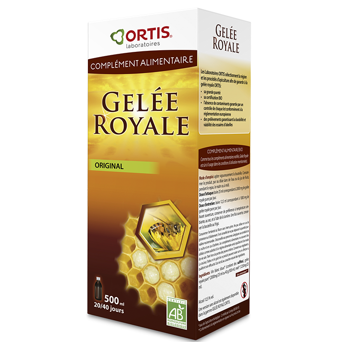 Gelée royal original - 500 ml - Ortis