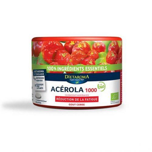 dietaroma-acerola-1000-gout-cerise-pilulier-60-comprimes