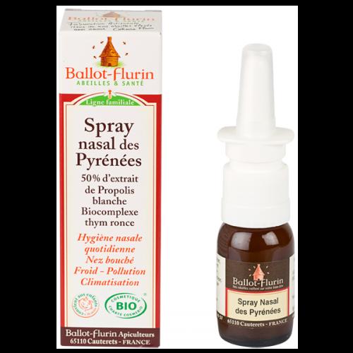 Spray nasal des Pyrénées - Ballot-flurin