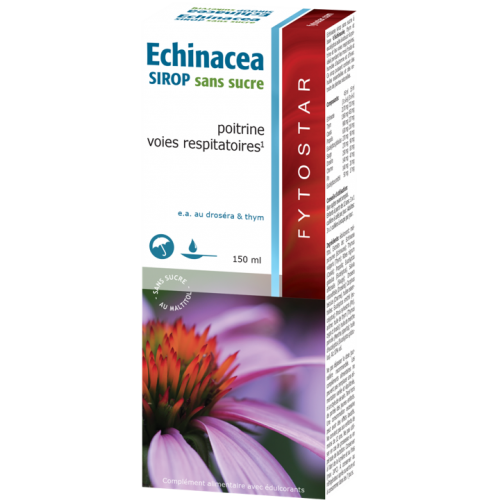 Echinacée - Sirop sans sucre - Fytostar